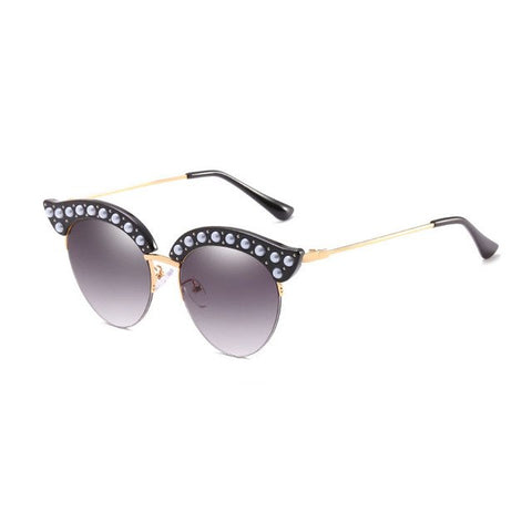 Cat Eye Pearl Sunglasses