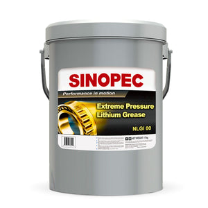 Sinopec (EP00) Extreme Pressure Multipurpose Lithium Grease, NLGI 00