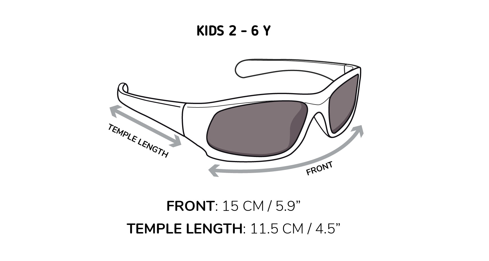 Sizing for Kid Sunnies