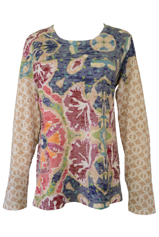 Whimsy Rose long sleeved floral top