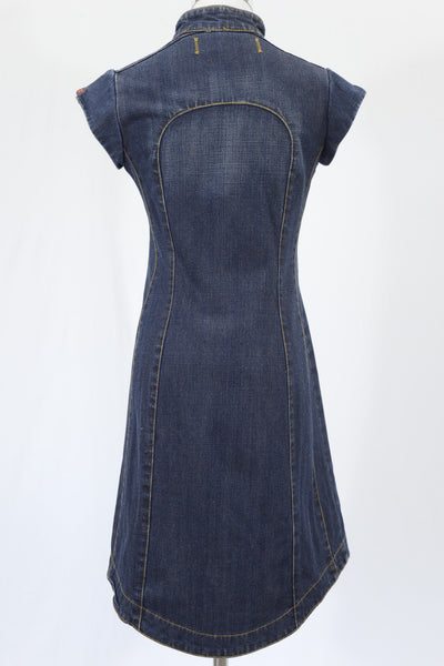 Mademoiselle DDP Denim Dress - Size 16Y or Women's 8-10