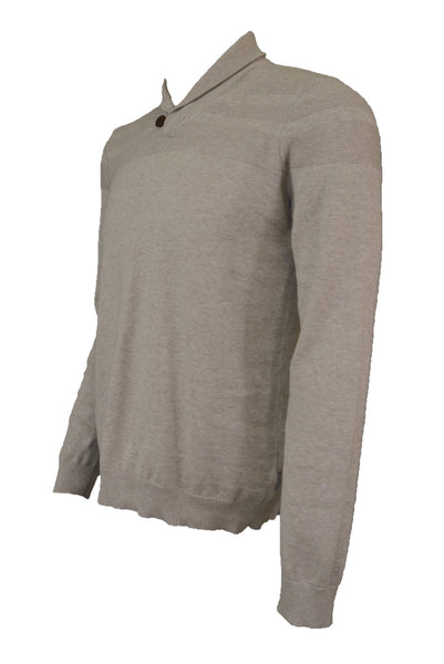 Ted Baker fawn cotton knit jumper, side view