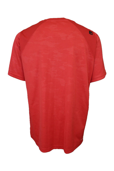 AND1 preloved red sport t-shirt, back view