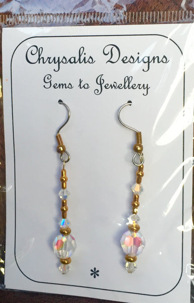 Chrysalis Designs Swarovski Crystal handmade earrings