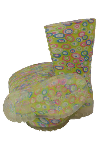 Kids Bata colourful gumboots sole