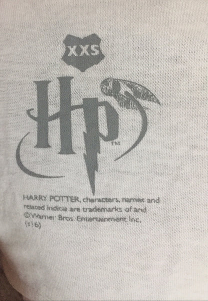 Harry Potter Hogwarts 3/4 sleeve t-shirt label
