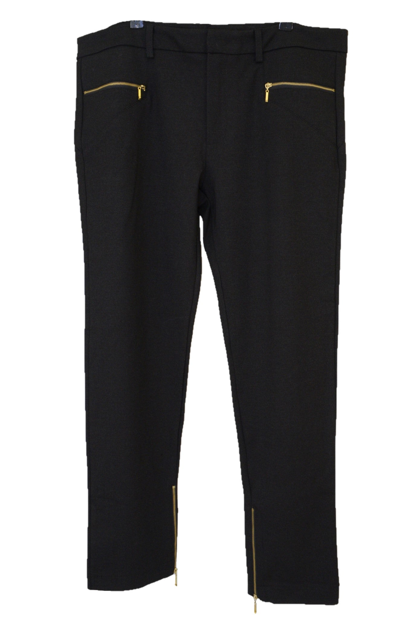 Harvey the Label black Zeppelin stretch pants