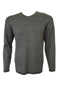 Preloved vintage Target men's grey jumper.