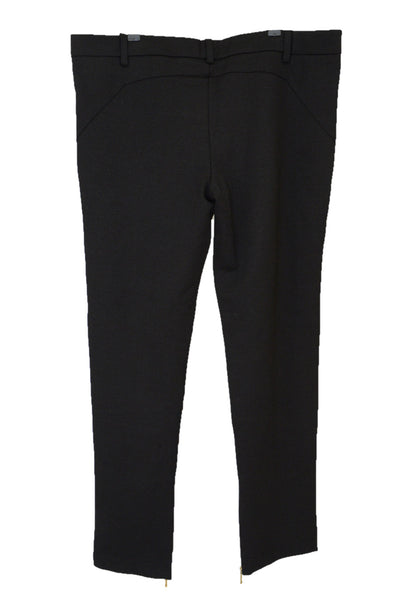 Harvey the Label black Zeppelin stretch pants, back view