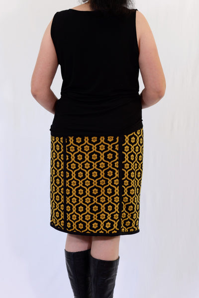 Almost Famous lined winter skirt size 14 - back