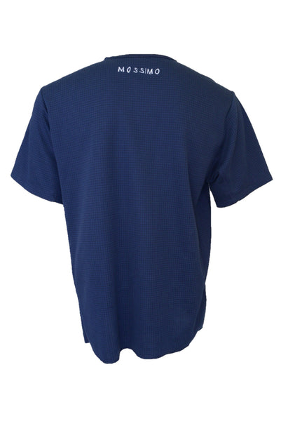 Mossimo men's navy blue t-shirt, back view.