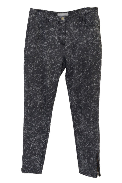 Yarra Trail women's grey pants with ankle zips