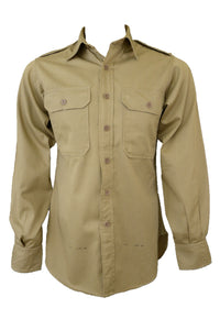Vintage Pelaco men's khaki army shirt