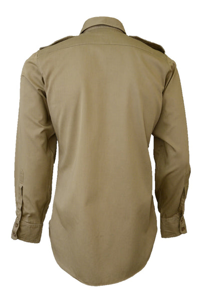 Vintage Pelaco men's army shirt, back view