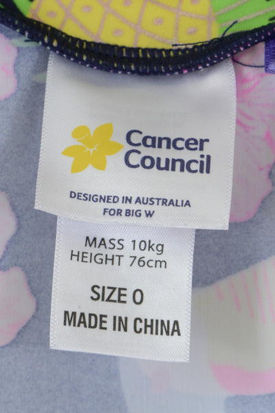 Cancer Council for Big W clothing label