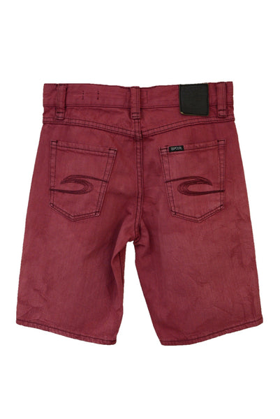 Rip Curl boy's red shorts, back pockets