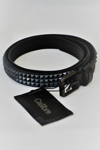 Black leather Calibre men's belt, new with tags.