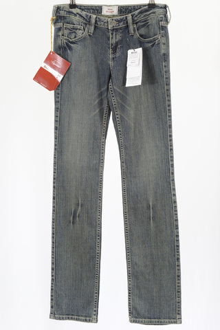 Levi Strauss Signature women's blue denim jeans.
