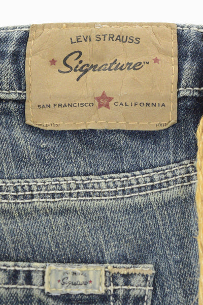 Levi Strauss Signature label on back of women's jeans.