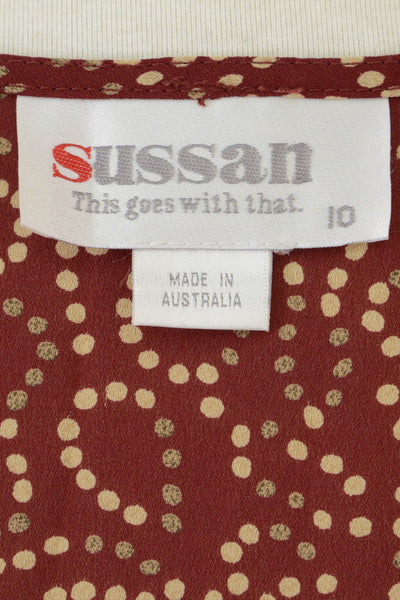 Vintage Sussan clothing label: this goes with that