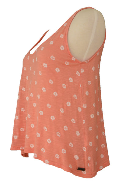 Lee Cooper apricot orange top, side view
