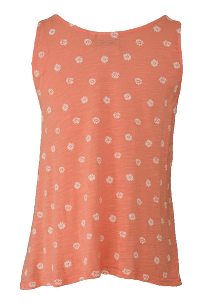 Lee Cooper apricot orange top, back view