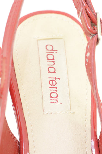 Diana Ferrari shoe label.