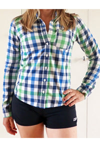 Women's Abercrombie & Fitch check shirt - front