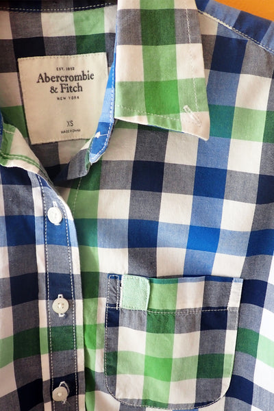 Women's Abercrombie & Fitch check shirt - label