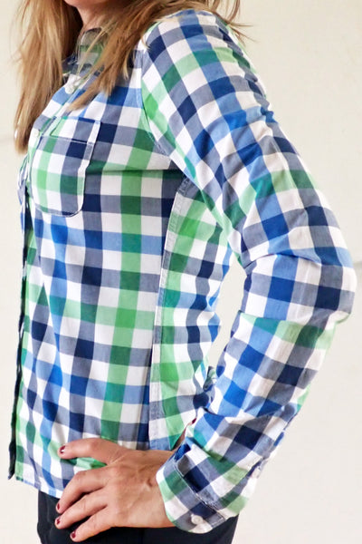 Women's Abercrombie & Fitch check shirt - side