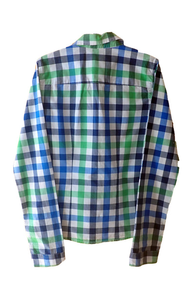 Women's Abercrombie & Fitch check shirt - back
