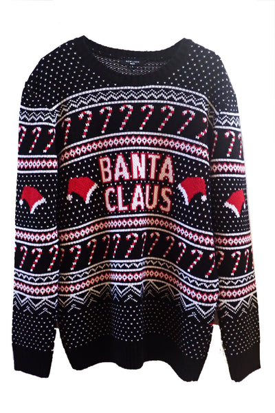 Men's New Look Christmas Knit front