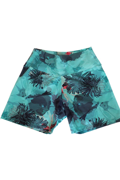 Liquido girls active shorts front