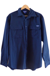 Blundstone Navy Work Shirt XL front