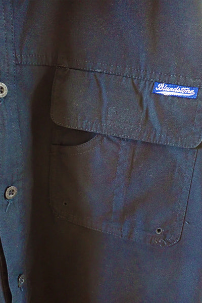 Blundstone Navy Work Shirt XL utility pocket