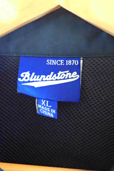 Blundstone Navy Work Shirt XL label
