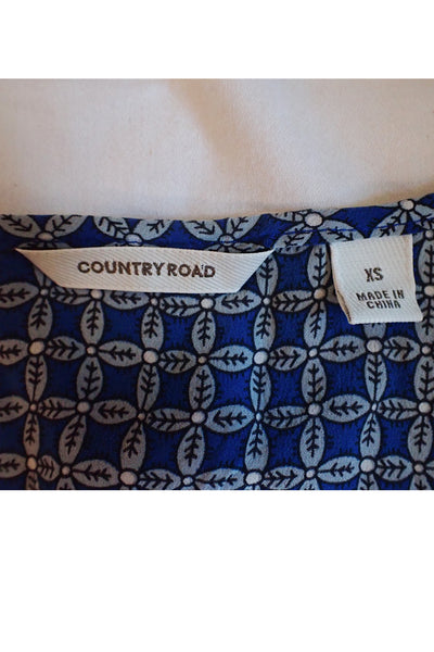 Country Road Preloved 100% Silk Top label