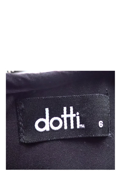 Dotti cutaway top maxi dress label showing size 6