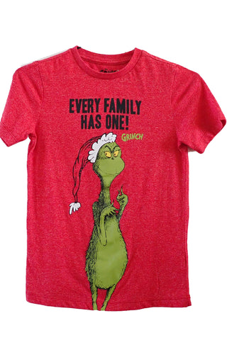 Dr Seuss The Grinch kids T-shirt front