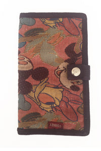 Large fabric wallet by Disney, labelled 'Mickey & Co.'