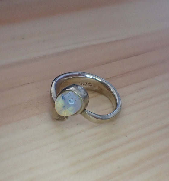 NWOT Handmade Moonstone Ring