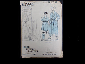 Vintage Home Journal 1950s sewing pattern