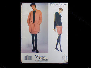 Vintage Donna Karan sewing pattern in packet