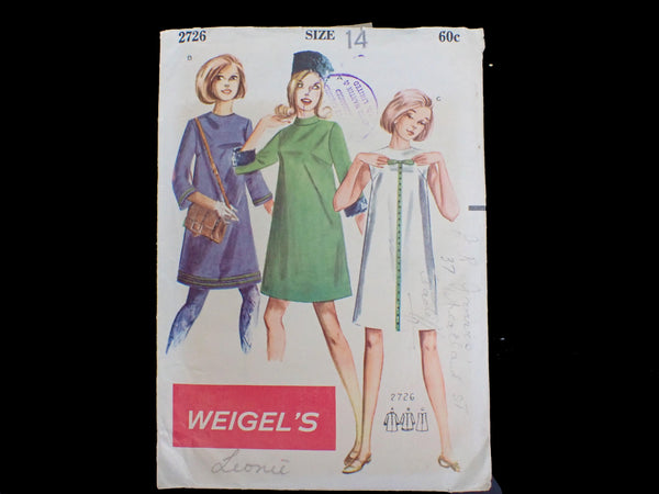 Wiegel's vintage sewing pattern in packet