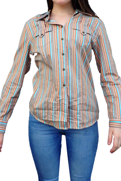 R.M. Williams women's shirt front