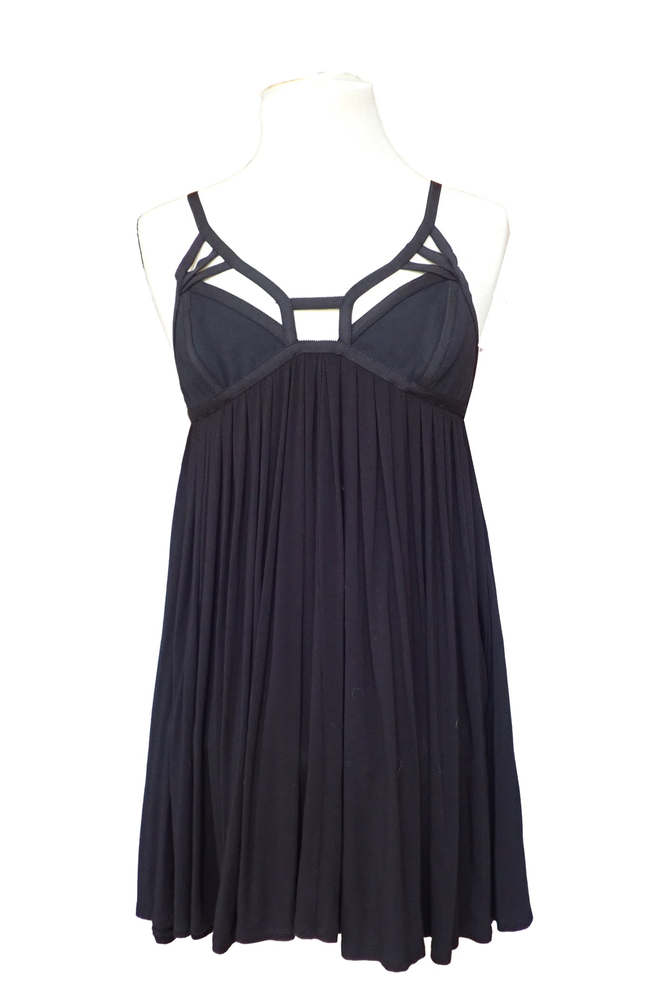 Sass & Bide little black dress front