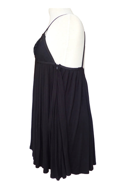 Sass & Bide little black dress side view