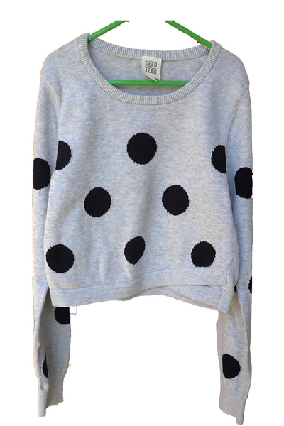 Seed Teen cotton jumper hanging