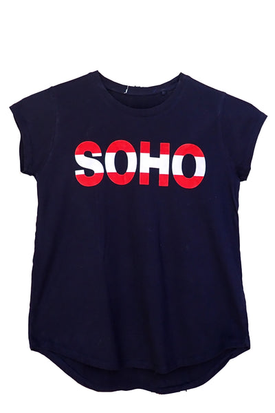 Decjuba Kids Soho navy T-shirt