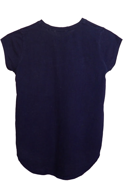 Decjuba Kids Soho navy T-shirt back